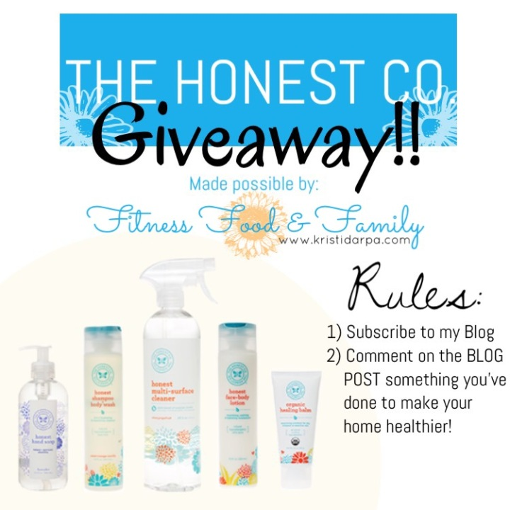 THE HONEST CO. GIVEAWAY!! – CLOSED-