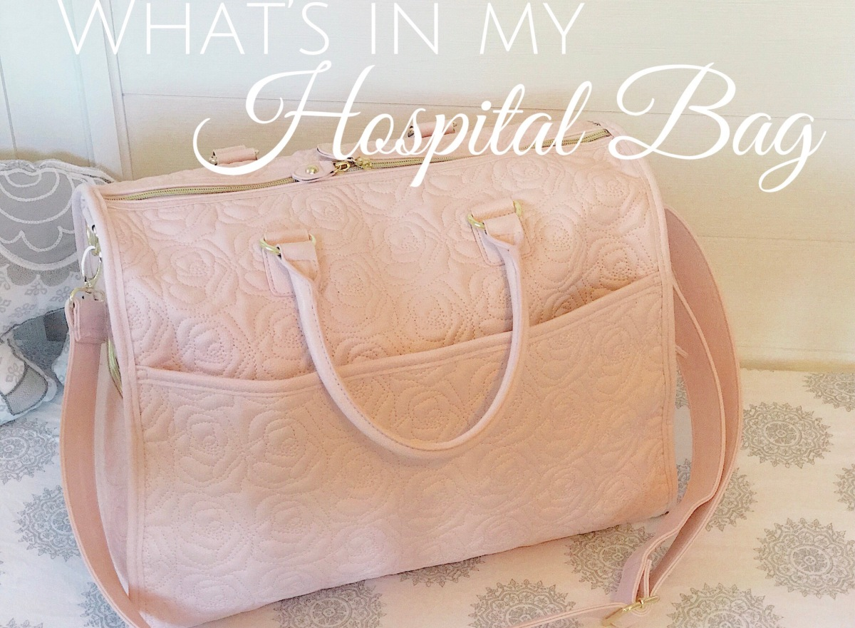 What's In My Hospital Bag - Printable Check List